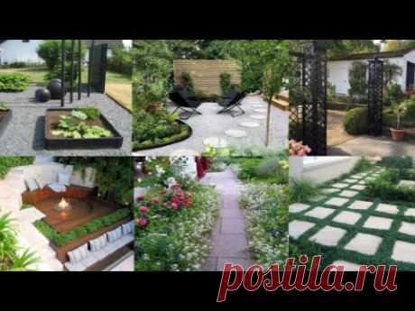 Украшение двора частного дома. Идеи дизайна
