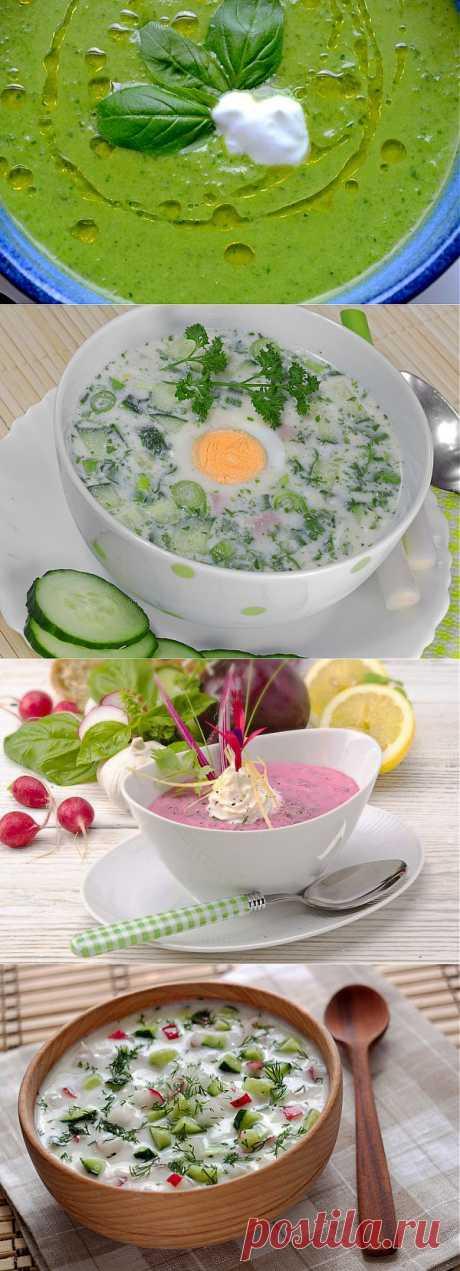 Холодный суп с огурцами: ТОП-5 рецептов - Кулинарные советы для любителей готовить вкусно - Хозяйке на заметку - Кулинария - IVONA - bigmir)net - IVONA - bigmir)net