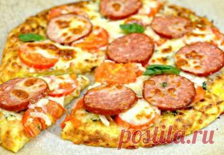 Пицца на кабачковом тесте: разлетается со стола в 10 минут - Steak Lovers - медиаплатформа МирТесен