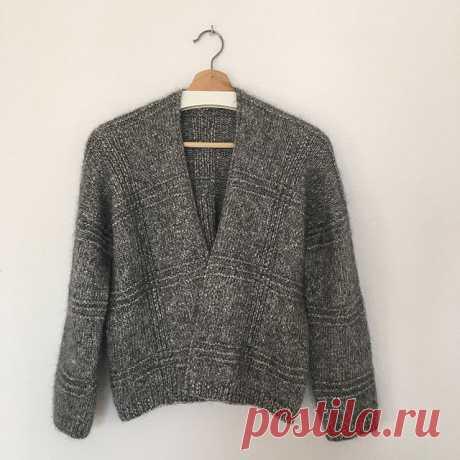 Кардиган спицами Tomomi - Вяжи.ру