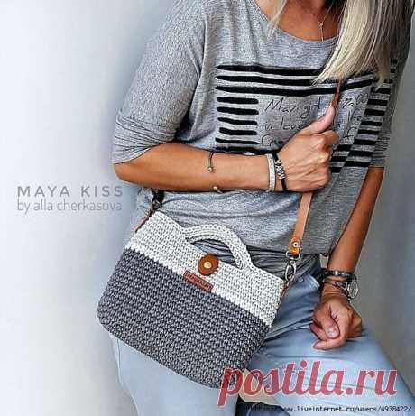 Вязаная сумочка TOKYO от _maya_kiss (Вязание крючком)