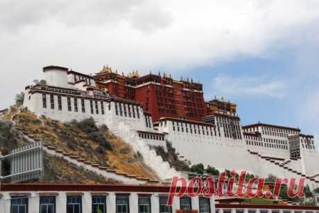 Дворец Потала, Тибет, Китай — Путешествия