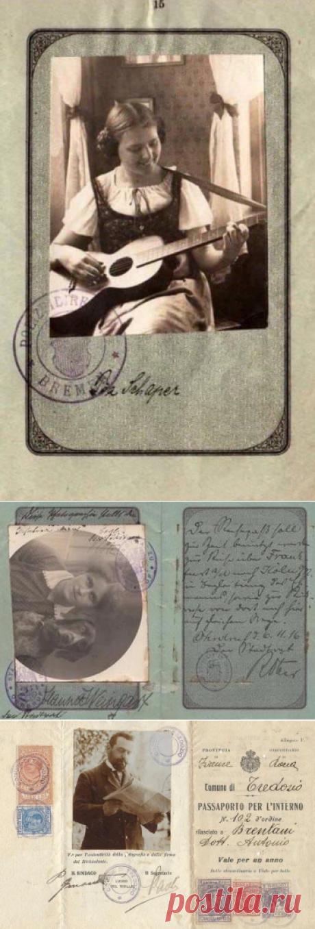 """ulyssa on Twitter: """"Раньше свободнее люди жили. Веселей. Даже паспорта были интереснее, в 19 веке для фотографий на паспорт не существовало никаких правил."""