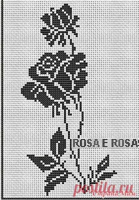 . Много схем для филейного вязания - Все в ажуре... (вязание крючком) - Страна Мам