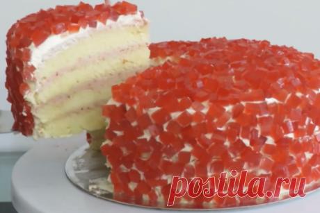 Божественно вкусный торт «Рубин»: он обязательно станет вашим любимчиком