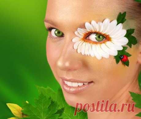Дачные рецепты масок из зелени