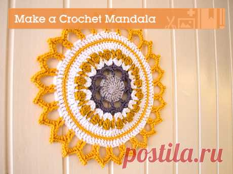 Make a Crochet Mandala For Your Home - Envato Tuts+ Crafts & DIY Article