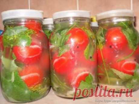Самые проверенные рецепты - Вкусные квашеные помидоры с горчицей