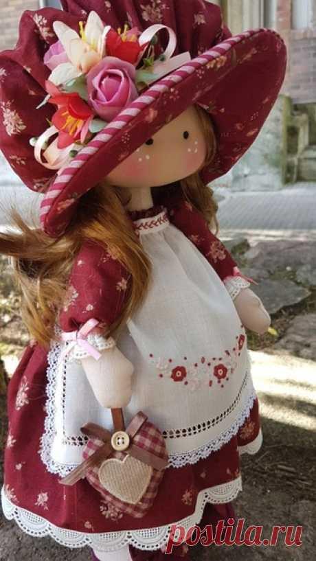 Очаровательные тканевые куклы для вашего вдохновения
