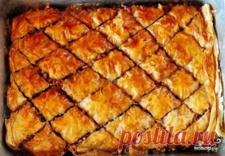 Пахлава армянская - пошаговый рецепт с фото на Повар.ру