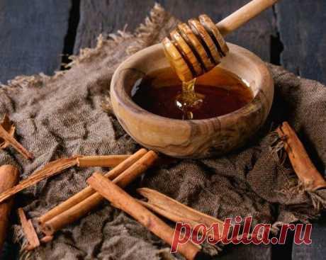 Профилактическое чудо-лекарство из мёда с корицей