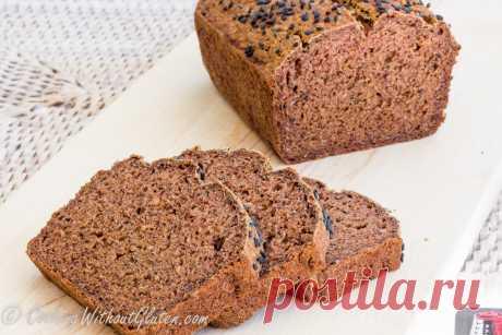 Гречневый Хлеб на Яблоках Без Дрожжей и Яиц