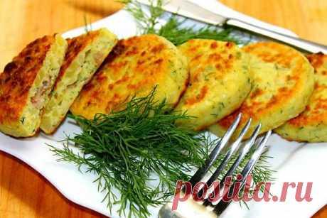 Картофельные зразы с куриной начинкой — СОВЕТНИК
