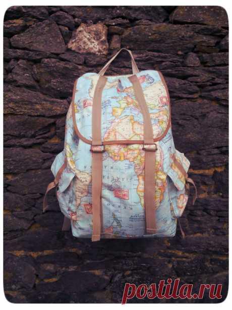 Как сшить рюкзак с карманами (Diy) Модная одежда и дизайн интерьера своими руками