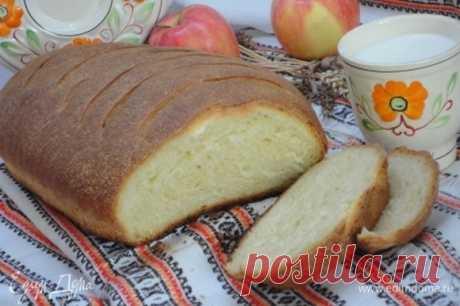 Ситный горчичный хлеб. Ингредиенты: мука 1 сорт, вода, дрожжи свежие