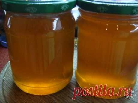 """Яблочный """"мед"""" - отличная заготовка на зиму"""