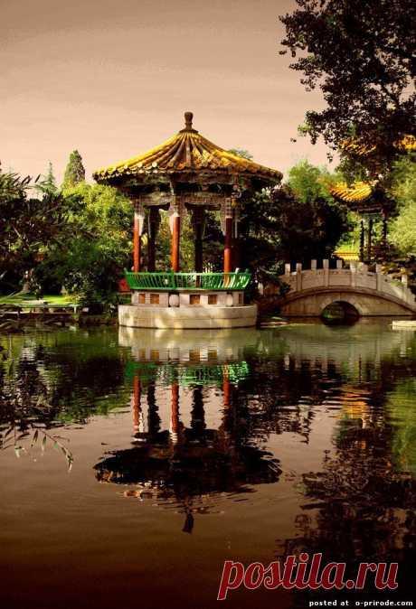Классические китайские сады.