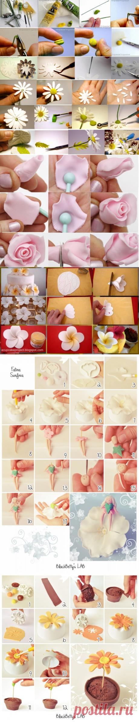 Las flores de la figurina de la almáciga