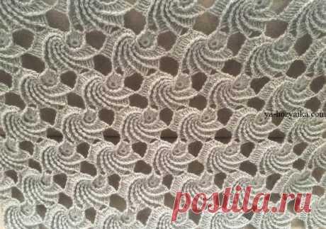 Красивая шаль «Мидии» крючком. Оригинальная шаль из мотивов. Мастер класс от турецкой мастерицы.