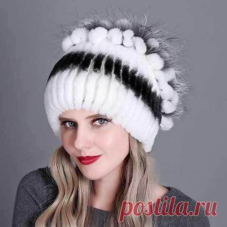 Я увидела в интернете, в прошлом году шапочку кроличью на вязаной основе. Очень переживала, что шапка будет мала, но, на мою радость шапочка достаточно глубокая, свободная, так что, если даже немного сядет, то это не будет так страшно. На ощупь изделие безумно приятное - это благодаря кроличьему меху. Красивая на вид, хороший дизайн.    красивые шапки спицами шапочка для девочки спицами жакеты со жгутами медовые маски ажуры спицами