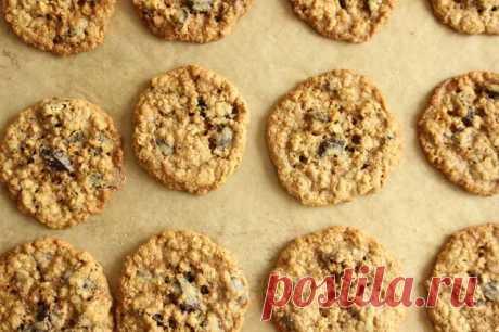 Овсяное печенье по-израильски с секретным ингредиентом