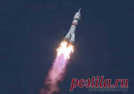 14.10.20-«Союз» с самым быстрым пилотируемым кораблем стартовал с Байконура