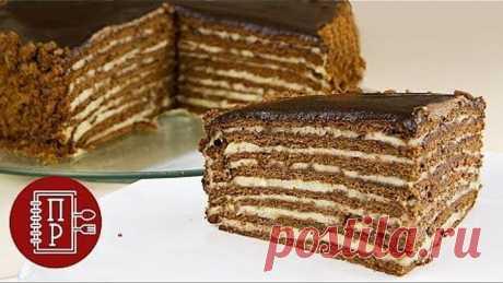 Этот Торт Можно Есть только Губами, Он Сам Тает во Рту! Шоколадный Медовик