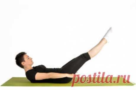 Упражнение Пилатеса Сотня для всех мышц брюшной полости