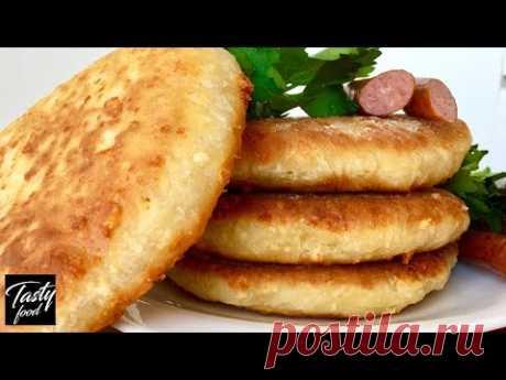 Сырные Лепешки на Скорую Руку! Вы забудете про хлеб! Это так Вкусно!
