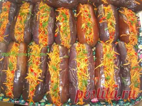 Лучшая закуска из баклажан Лучшая закуска из баклажан Представляем Вашему вниманию рецепт отличной закуски – баклажаны,...