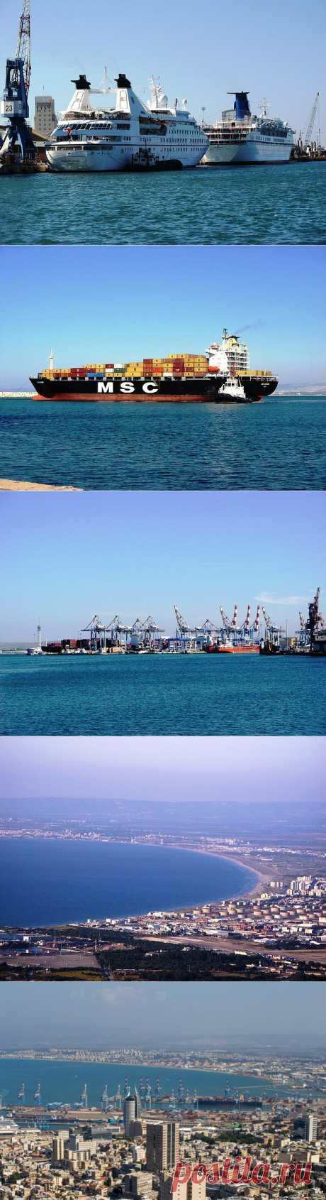 Синее море, белый пароход, Хайфа, порт | Блог Ботинок