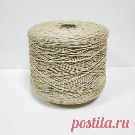 Emilcotoni, Cotone Gasato, Хлопок мерсеризованный 100%, Овсянка, 320 м в 100 г