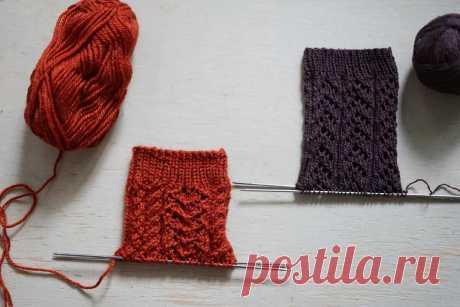 Как быстро и просто связать тёплые носки? Пожалуй, самый простой способ вязания тёплых носочков. Количество петель и рядов зависит от толщины пряжи, размера спиц, плотности вязания и нужного размера изделия.
