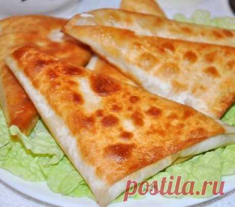 Пирожки из лаваша - Kurkuma project (Проект Куркума) Нет ничего проще чем приготовить эти замечательные и сытные пирожки из лаваша. Все что вам понадобится это армянский лаваш, сыр и ветчина.
