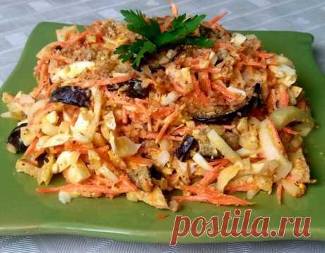 Салат с морковью по корейски