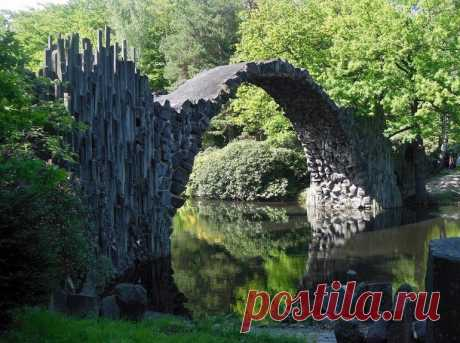 Дьявольский мост в Германии / Туристический спутник