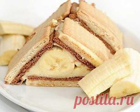 Вкусные истории: Банановый торт без выпечки