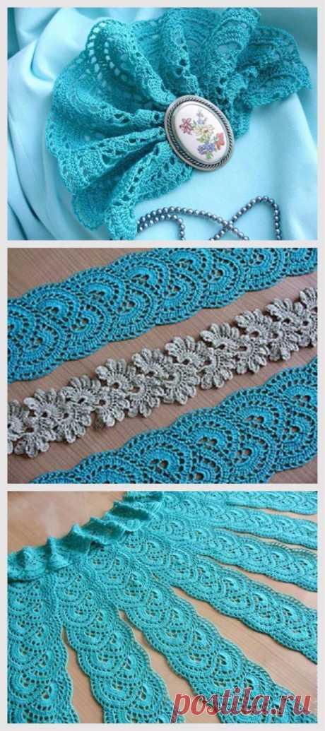 Knit a Ribbon Lace
