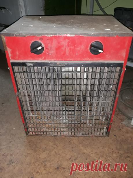 Плохо греет трёхфазный тепловентилятор? Причины и варианты ремонта. | ElektroTechLife | Яндекс Дзен