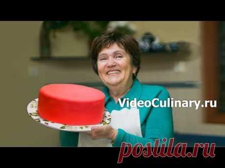 Сахарная мастика - рецепт мастики для торта от Бабушки Эммы