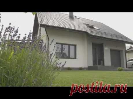Дом 94м2 с мансардой обзор поэтажный план