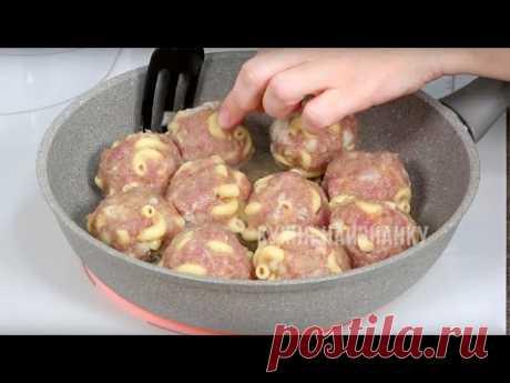 Как использовать МАКАРОНЫ не только на гарнир - 5 РЕЦЕПТОВ ---1-— Тефтели с макаронами ---2-— Ленивые вареники с капустой ---3-— Рулет с макаронами ---4--- Вафли на завтрак • Сыр • Макароны ---5--- Домашняя лапша с курицей и овощами