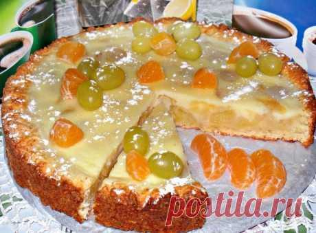 Заливной творожно-яблочный пирог Рецепт очень простого и доступного пирога, пирог получается очень вкусным с нежной начинкой, просто попробуйте, готовится очень просто. Рассмотрим, как приготовить такой пирог: Содержание статьи1 Ингредиенты для теста:2...