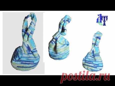 "Japanese handbag ""узелок"" omiyaga\/Japanese Knot Bag"
