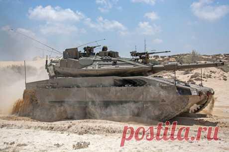 ОБТ «Молния»: Израиль создаст уникальное оружие с «прозрачной броней» | SMP | Яндекс Дзен