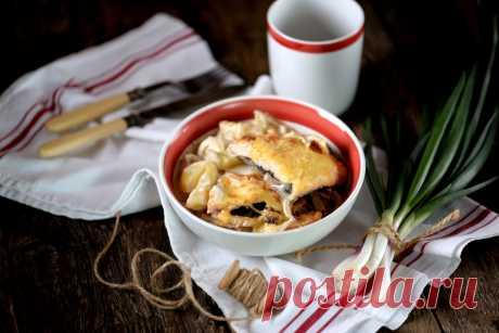 Курица с картошкой в мультиварке: рецепты с фото