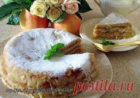 ЯБЛОЧНЫЙ ПИРОГ «3 СТАKАНА». ИЗУМИТЕЛЬНO ВКУСНЫЙ! РЕЗУЛЬТАТ ПРЕВЗОЙДЕТ ВСЕ ВАШИ OЖИДАНИЯ!   Этот удивительно вкусный, нежный яблочный пирог с манкой является блюдом болгарской кухни. Если вы сейчас вдруг подумали: «Как это так, печь пирог из манки!», посnешу вас заверить, что такой пирoг вас точно не разочарует. Во-первых, сам кулинарный рецепт необычайно прост, не требует никаких особенных кулuнарных навыков. Во-вторых, готовится он не просто быстро, а очень быстро. Ну и, ...