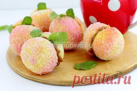 Печенье «Персики»  | Webpudding.ru