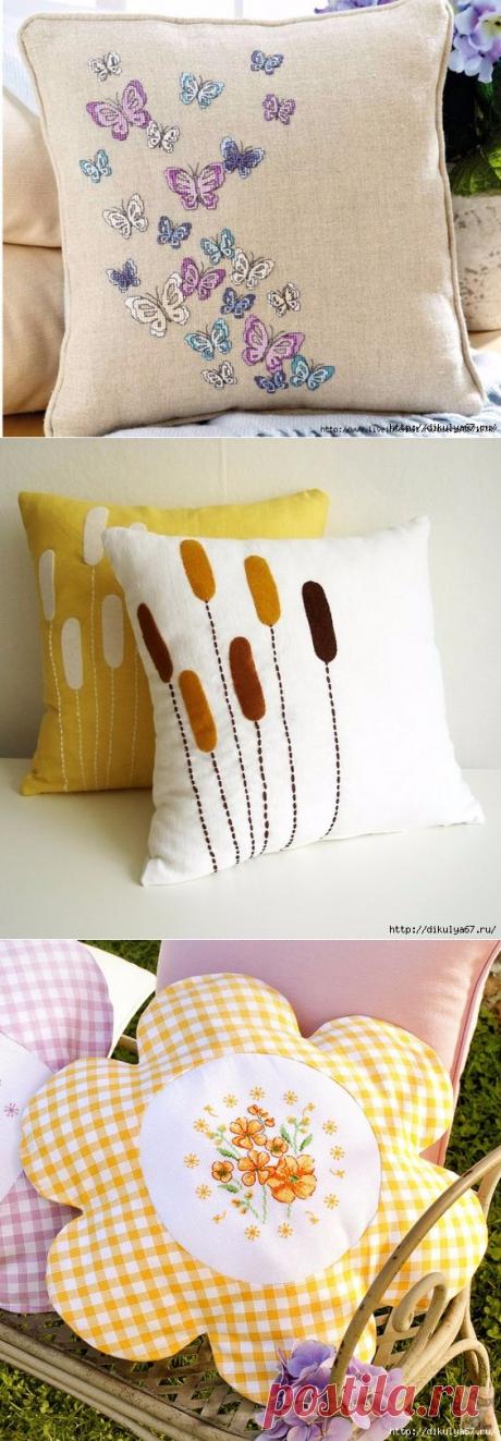 Декоративные подушки на любой вкус — HandMade
