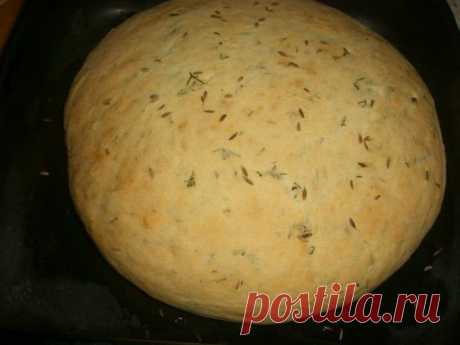 Вкусный картофельный хлеб
